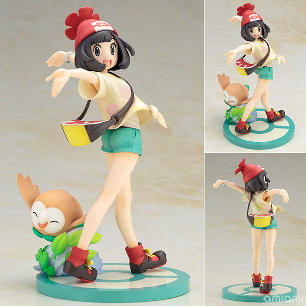 "ARTFX J - ""Pokemon"" Series: Selene with Rowlet 1/8 Complete Figure(Pre-order)"