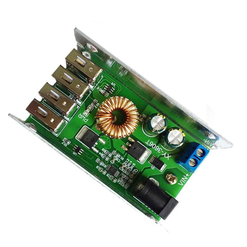 9V-36V To 5V 5A DC-DC Step Down Buck Converter Module Power Supply LED Lithium Charger