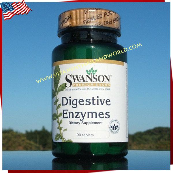 Swanson Premium Digestive Enzymes ช่วยย่อยอาหาร