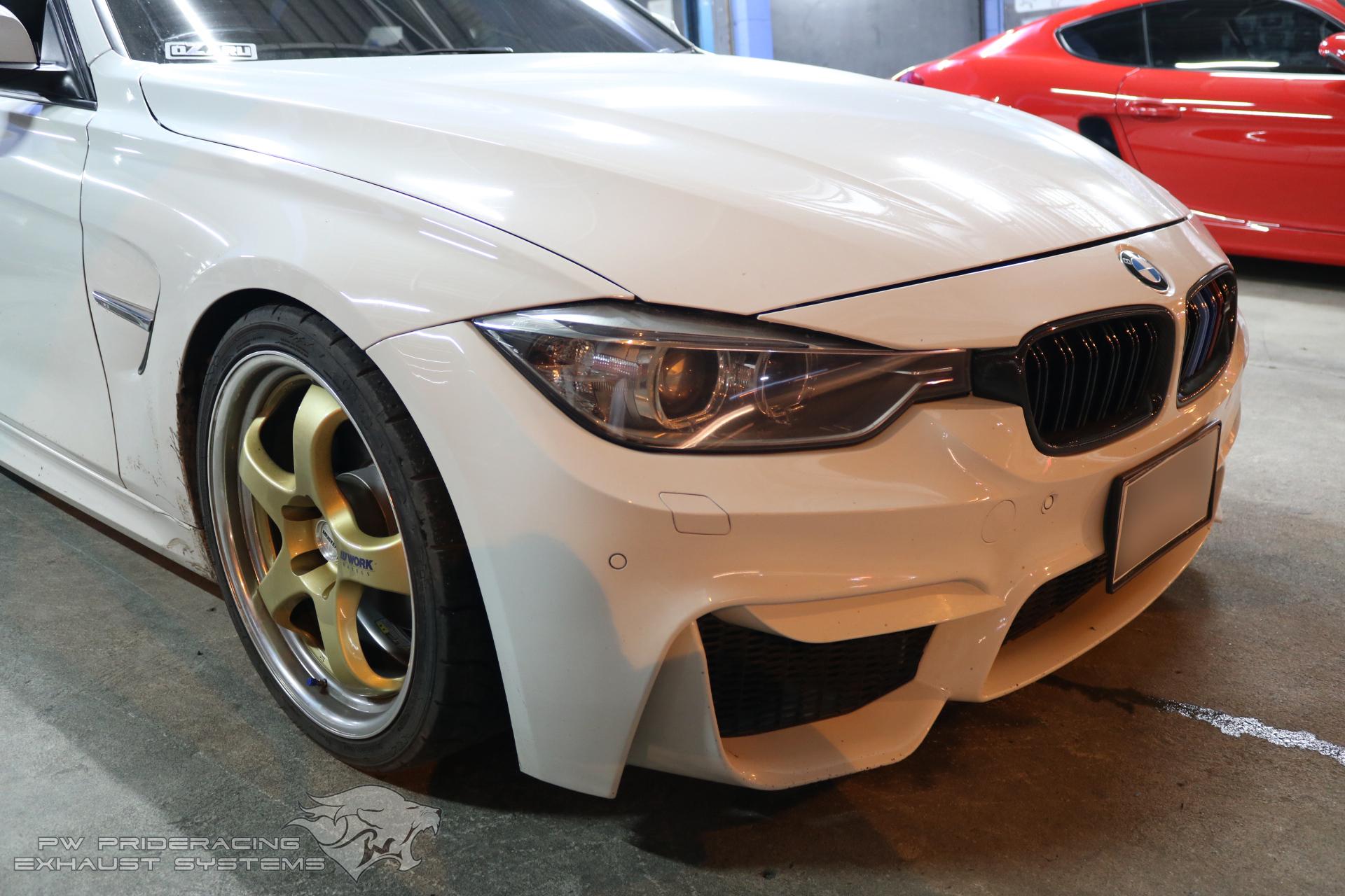 ชุดท่อไอเสีย BMW F30 320D N47 Engine by PW PrideRacing