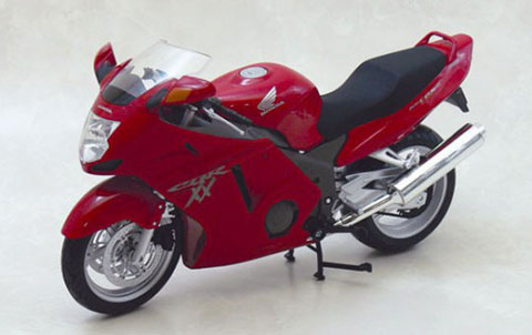 1/12 Complete Motorcycle Model Honda CBR1100XX Super Black Bird (Red)(Released)