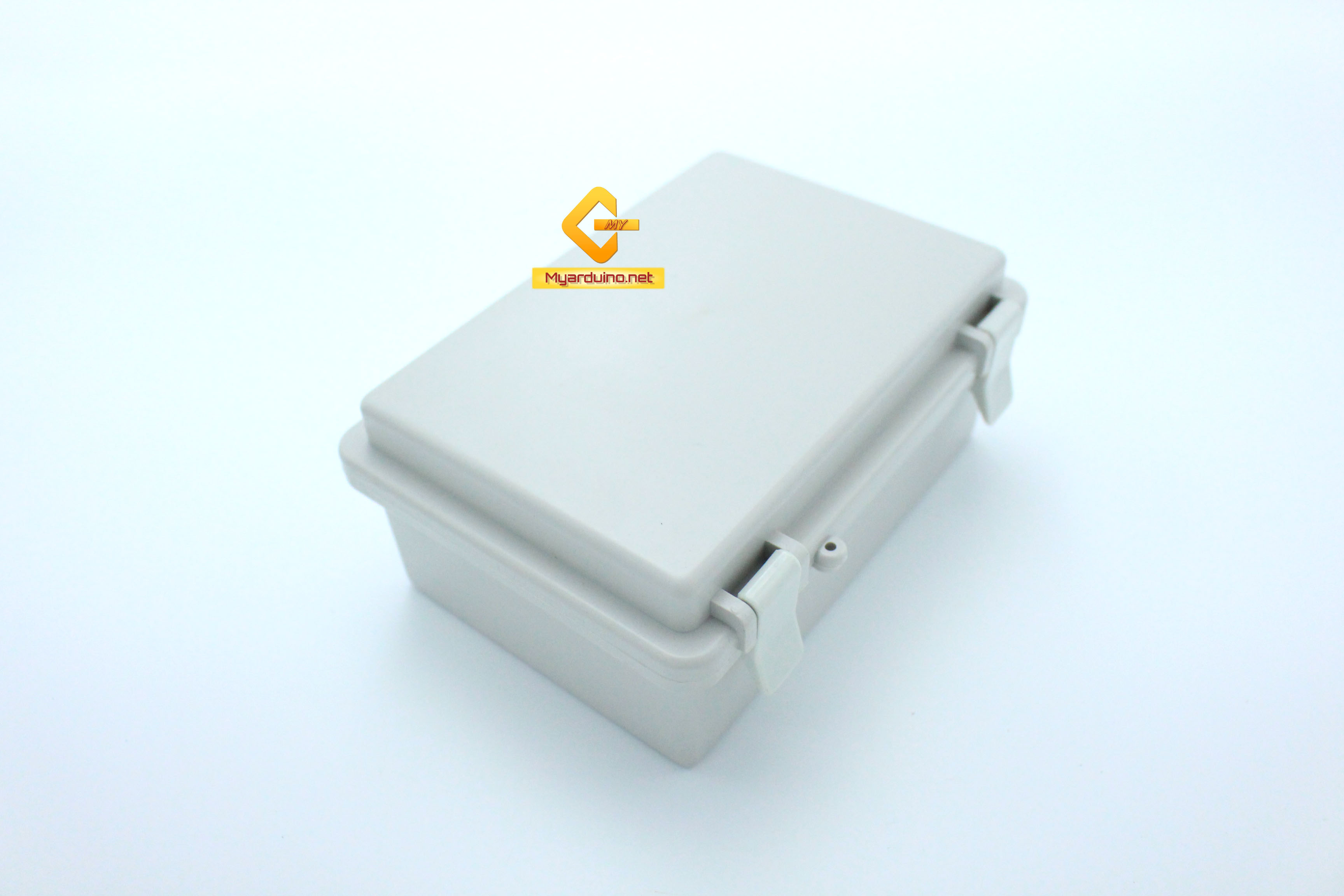 กล่องอิเล็กทรอนิกส์ อเนกประสงค์ กันน้ำ สีเทา พร้อมฝาปิด 170*120*72 mm