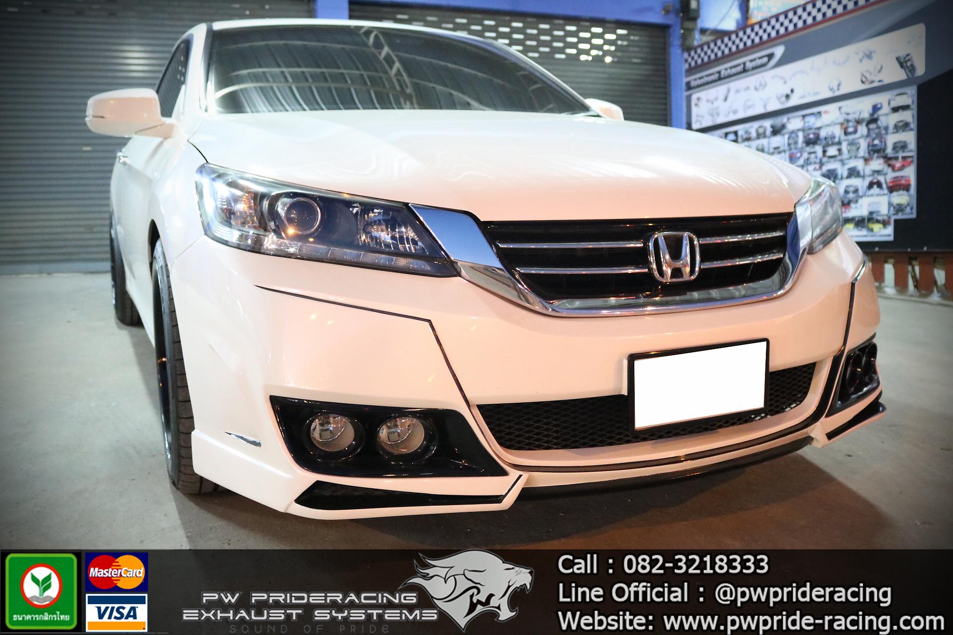 ชุดท่อไอเสีย Honda Accord G9 by PW PrideRacing