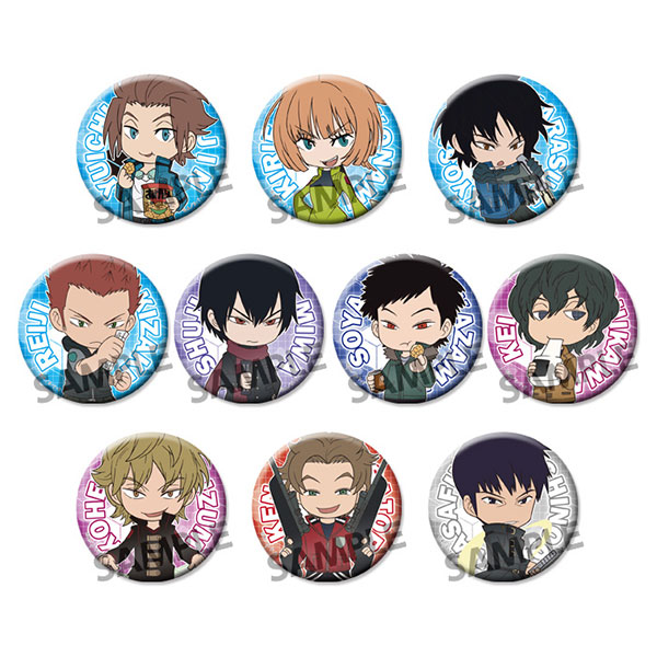 World Trigger - Trading Can Badge vol.3 10Pack BOX(Pre-order)