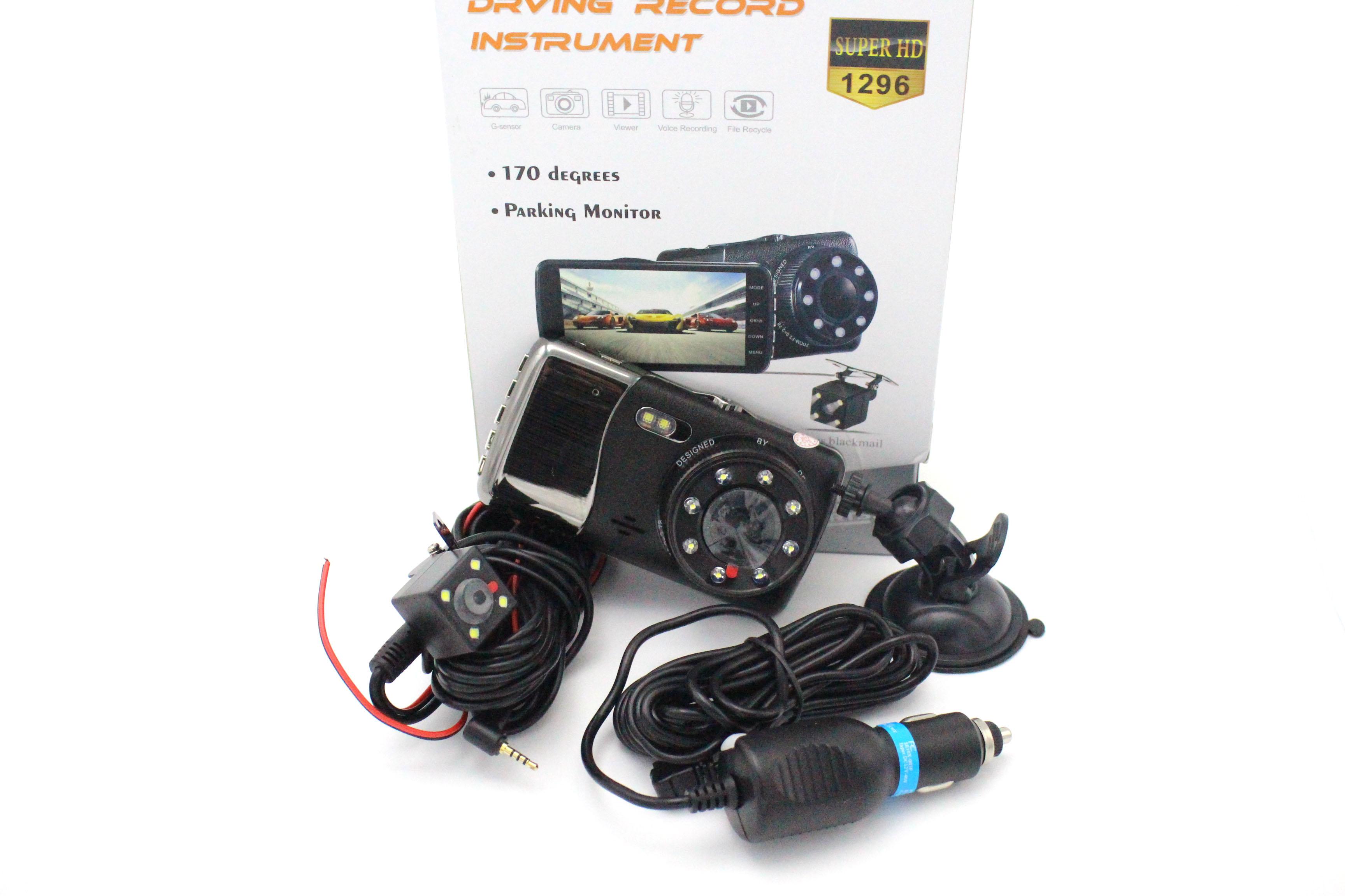 กล้องติดรถยนต์ หน้าหลัง Full HD รุ่นX400