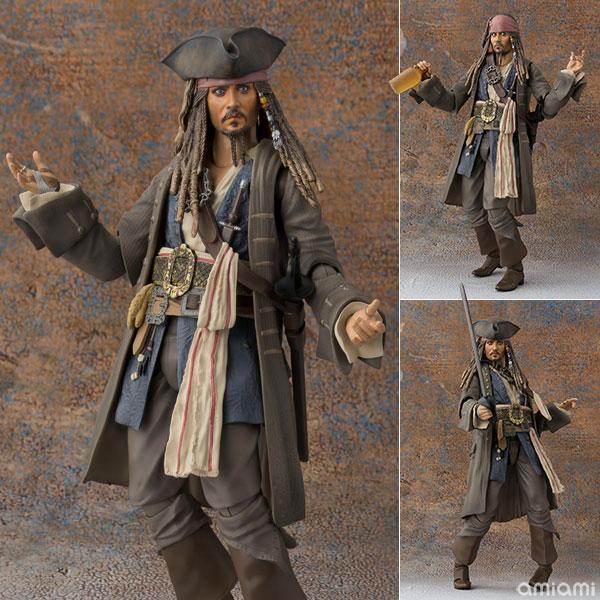 "S.H. Figuarts - Captain Jack Sparrow ""Pirates of the Caribbean: Dead men tell no tales""(Pre-order)"