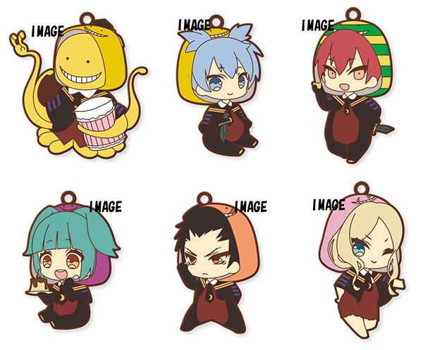 Eformed - Assassination Classroom PajaChara Rubber Strap 6Pack BOX(Pre-order)