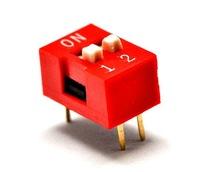 DIP switch ดิฟสวิทช์ 2P 2.54 mm