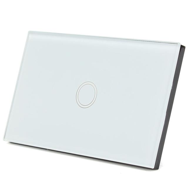 Touch switch สวิทช์ไฟสัมผัส สีขาว 1 ปุ่ม
