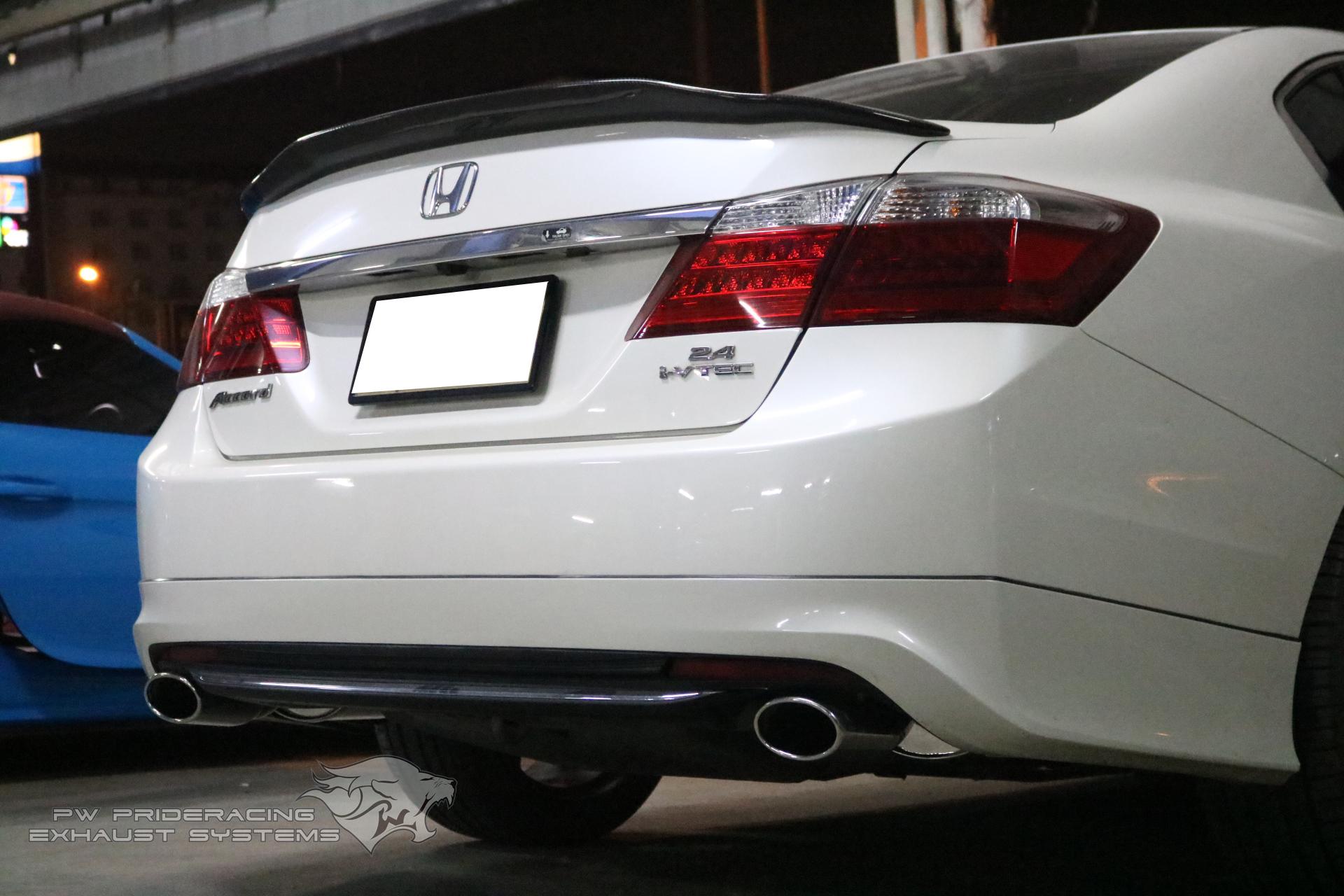 ชุดท่อไอเสีย Honda Accord G9