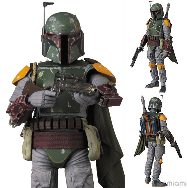 "MAFEX No.025 Boba Fett (RETURN OF THE JEDI Ver.) ""Star Wars: Episode VI - Return Of The Jedi""(Pre-order)"