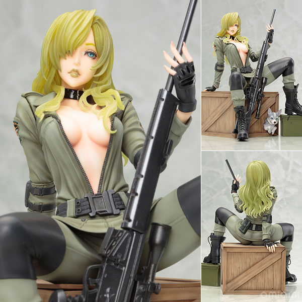Metal Gear Solid BISHOUJO - Sniper Wolf 1/7 Complete Figure(Pre-order)
