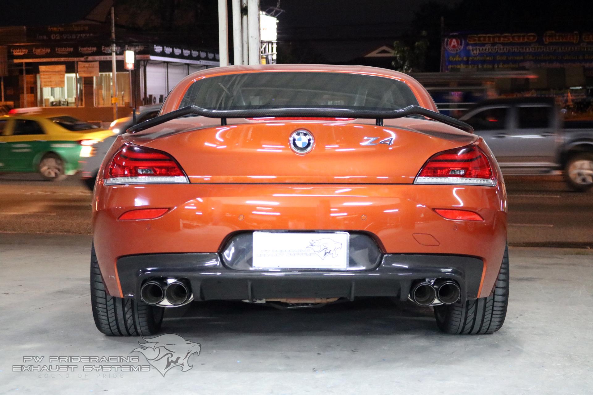 ชุดท่อไอเสีย BMW Z4 by PW PrideRacing