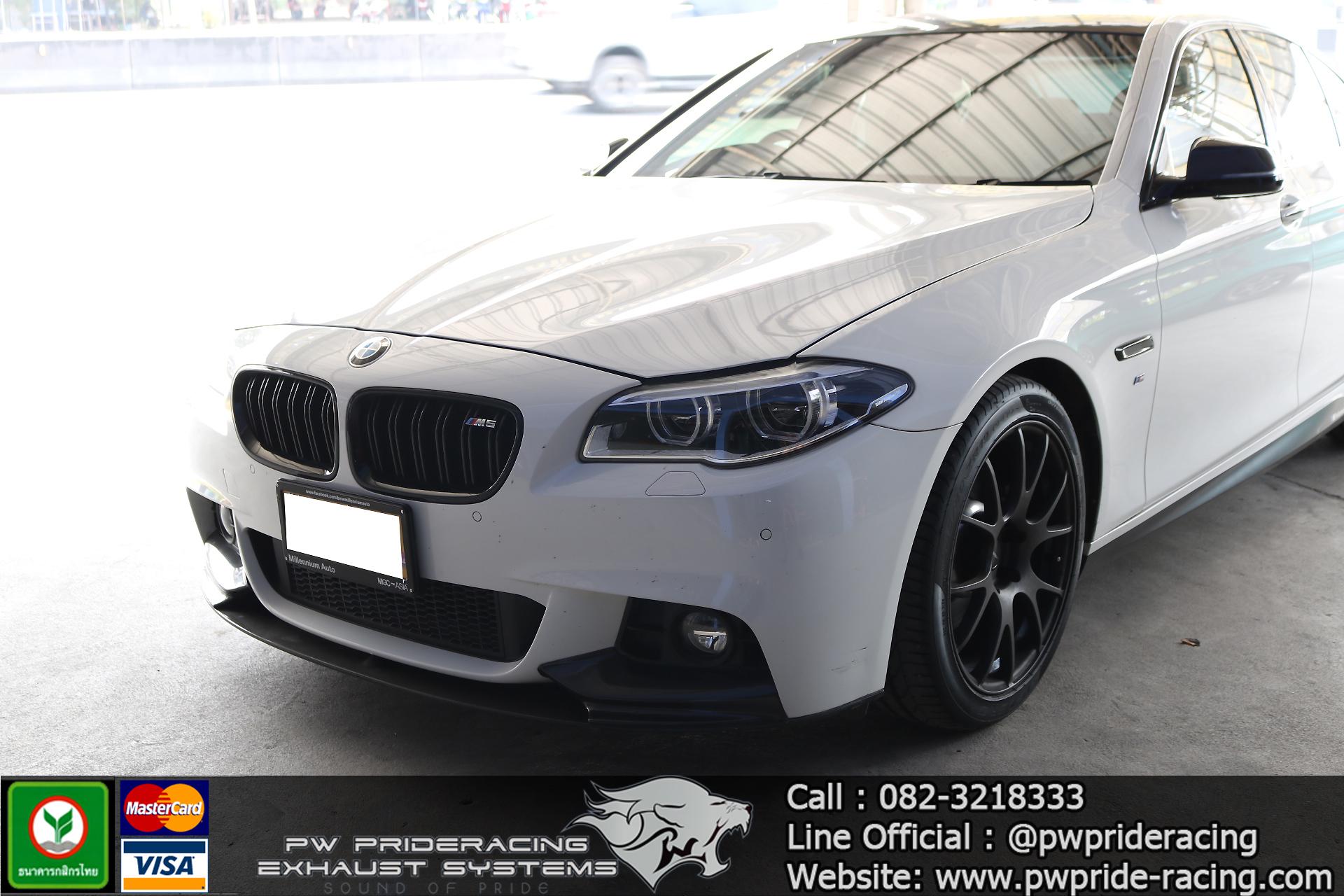 ชุดท่อไอเสีย BMW 525D F10 by PW PrideRacing