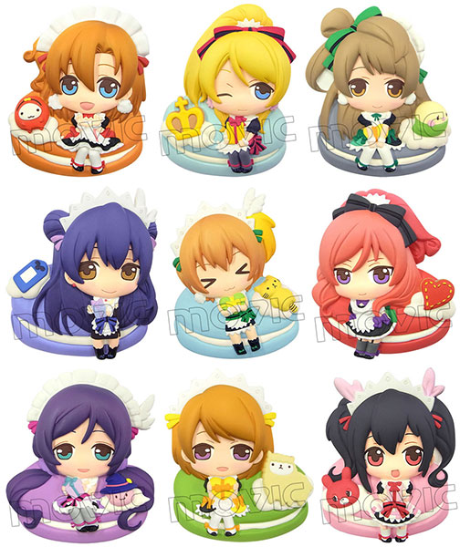 DECO RICH - Love Live! 9Pack BOX(Pre-order)