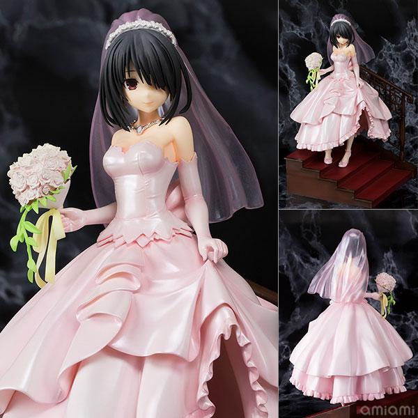Date A Live - Kurumi Tokisaki Wedding ver. Pink 1/7 Complete Figure(Pre-order)