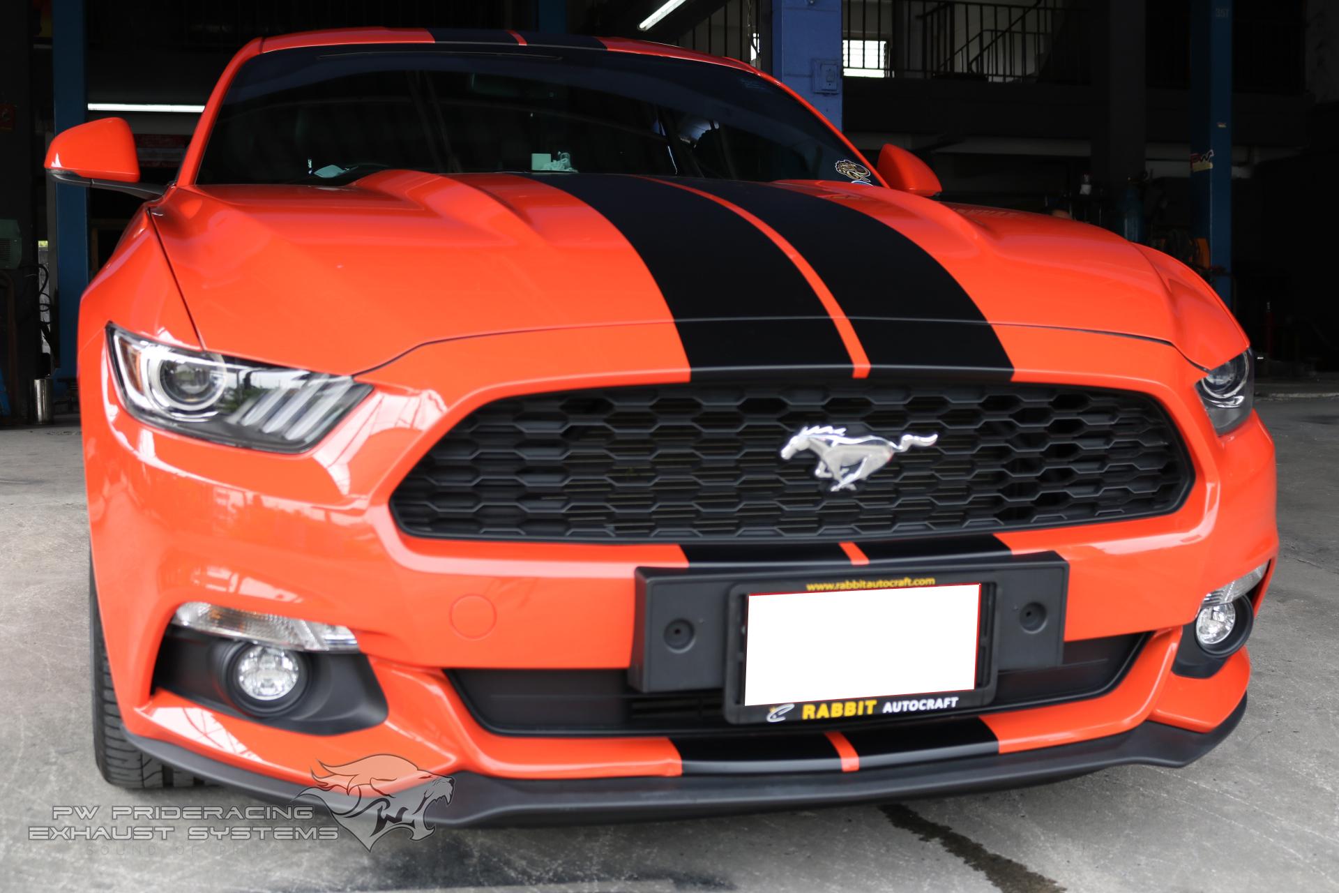 ชุดท่อไอเสีย Ford Mustang Ecoboost