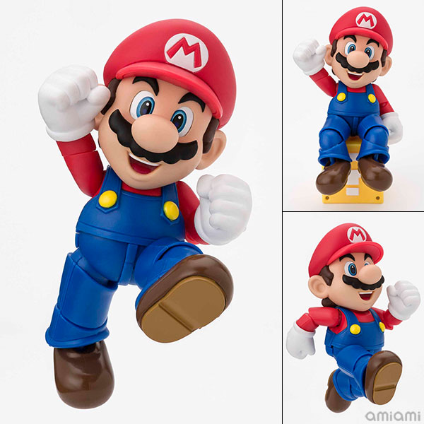 "S.H. Figuarts - Mario (New Package Ver.) ""Super Mario Brothers""(Pre-order)"