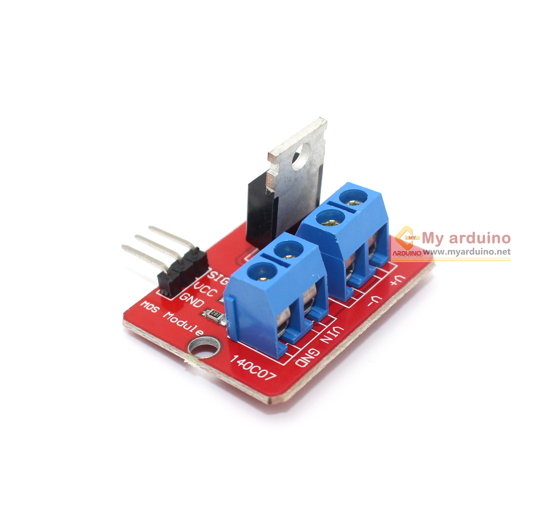 Power Electronic Switch Relay RF520 รีเลย์แบบอิเล็กทรอนิกส์ Switch MOS FET Relay Driver Module Power Electronic Switch Relay