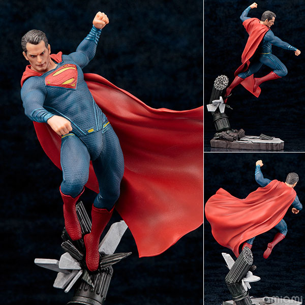 ARTFX+ - Batman vs Superman Dawn of Justice: Superman DAWN OF JUSTICE 1/10 Complete Figure(Pre-order)