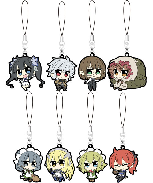 Is It Wrong to Try to Pick Up Girls in a Dungeon? - Rubber Strap Collection 9Pack BOX(Pre-order)