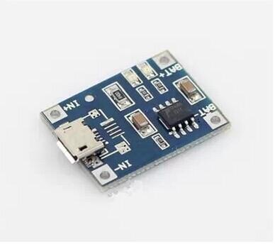 Li-ion Battery Charger Module Board micro 5v USB 1A li-ion Battery charger TP4056 18650