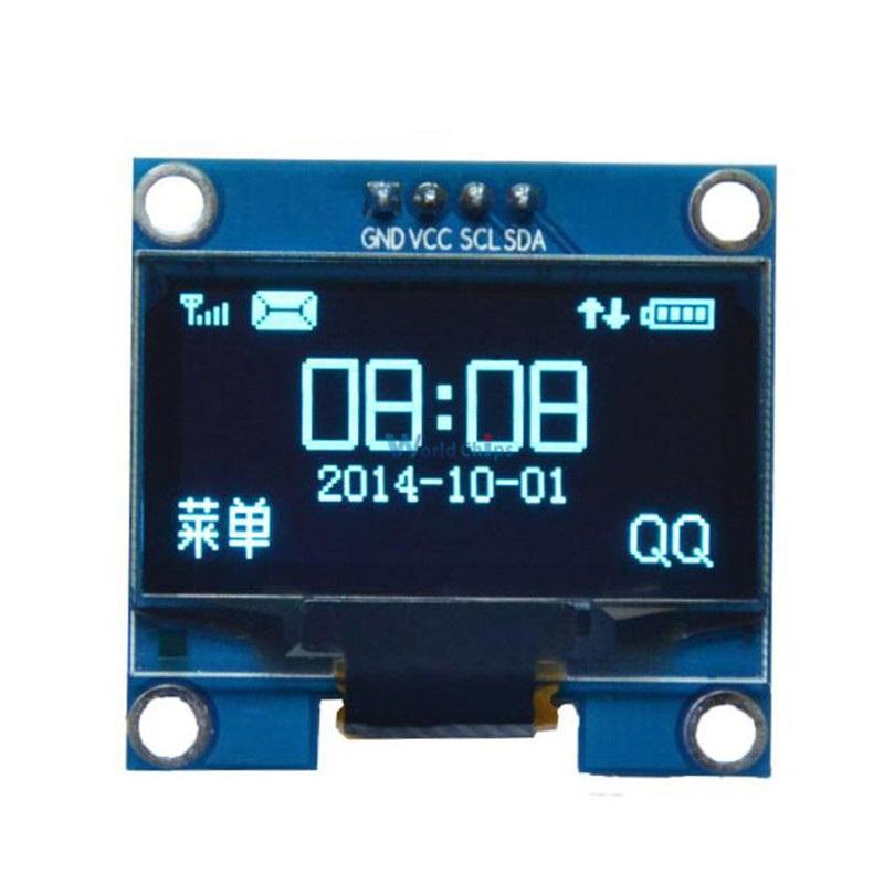 """จอแสดงผล OLED 128x64 แบบ I2C ขนาด 1.3"""" สีน้ำเงิน"""
