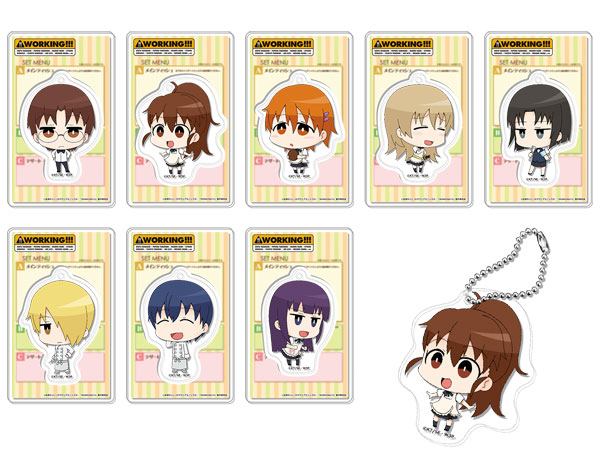 WORKING!!! - Trading Acrylic Keychain 8Pack BOX(Pre-order)