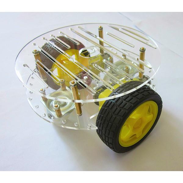 โครงรถ หุ่นยนต์ Smart Car Chassis