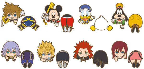 Kingdom Hearts - Nokkari Rubber Clip 8Pack BOX(Pre-order)