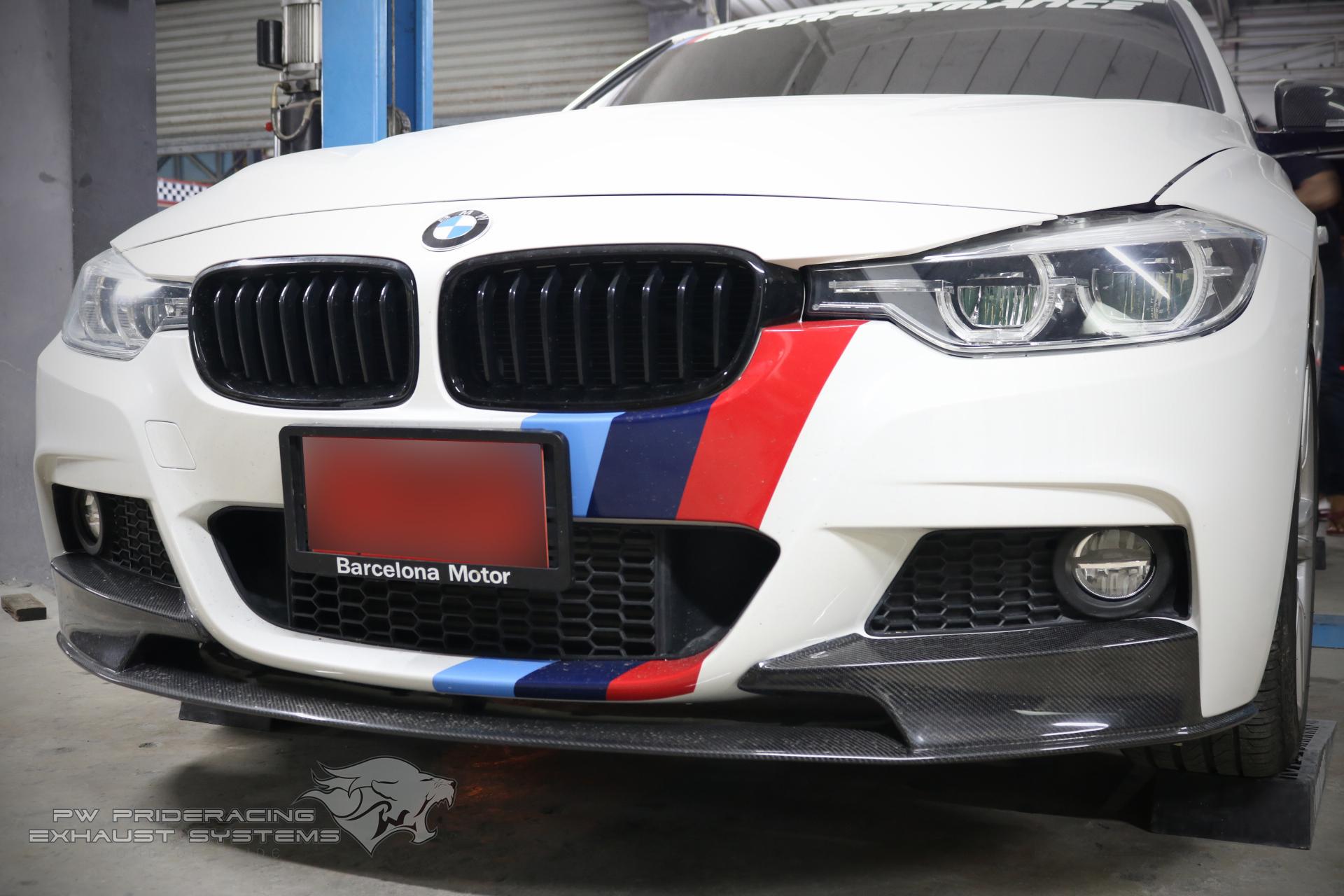 ชุดท่อไอเสีย BMW F30 LCI by PW PrideRacing