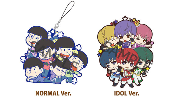 "Toy'sworks Collection Niitengo SisterS ""Osomatsu-san"" Rubber Strap (Set of 2)(Pre-order)"