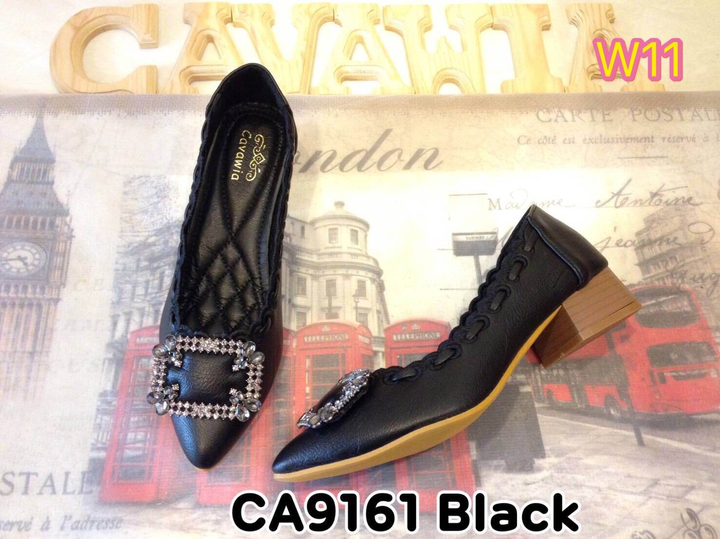 รองเท้าคัทชูส้นเตี้ย Cavawia