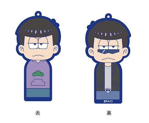 Osomatsu-san [Kokeshi-trap Omoteurubber] Ichimatsu Jihen(Pre-order)
