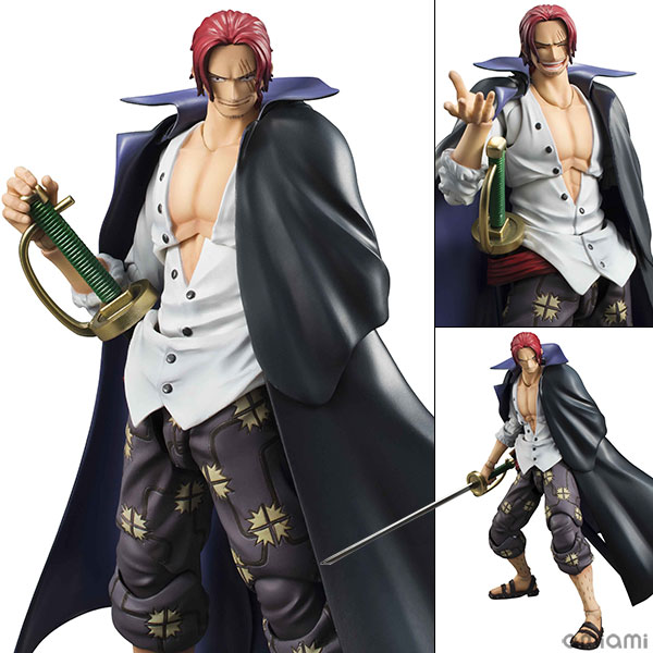 [Bonus] Variable Action Heroes - ONE PIECE: Red-Haired Shanks(Pre-order)