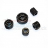 HARD STEEL DIFFERENTIAL GEARS - 5PCS SET