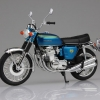 1/12 Complete Motorcycle Model Honda CB750FOUR (K0) Candy Blue(Pre-order)