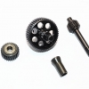 HARD STEEL TRANSMISSION GEARS - 1SET