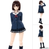 1/3 Hybrid Active Figure No.059 - Saekano: How to Raise a Boring Girlfriend Flat: Megumi Kato Complete Doll(Pre-order)