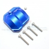 ALUMINIUM FRONT/REAR DIFFERENTIAL COVER WITH HOLE - 1PC SET