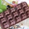 แม่พิมพ์ซิลิโคน พิมพ์วุ้น สำหรับทำขนม ลายโบว์จีน