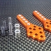 ALLOY FRONT/REAR ADJUSTABLE DAMPER MOUNT WITH MULTIPLE HOLES(UPWARD & DOWNWARD THE CHASSIS) - SCX028M