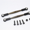 SPRING STEEL REAR UPPER TIE ROD WITH PLASTIC ENDS - 1PR SET