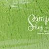 เชือกร่ม สีเขียวสะท้อนดิ้นเงิน