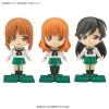 Petiture-rise - Girls und Panzer: Miho, Saori, Hana Set Plastic Model(Pre-order)