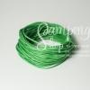 เชือกคอตตอน สีเขียว 1.5มิล (1หลา)