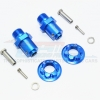 ALUMINUM 17MM HEX ADAPTERS FOR FRONT/REAR -10PC SET