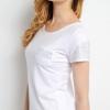 เสื้อยืด แขนสั้น สีขาว Size L สไตล์เด็กแนว