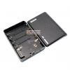 Power Bank แหล่งจ่ายไฟสำหรับ Arduino ESp8266 ชาร์จไฟผ่าน USB ถ่าน 18650 4 ก้อน สีดำ