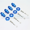 ALUMINUM 17MM HEX ADAPTERS FOR FRONT/REAR -20PC SET TRX4/17X19/2-B